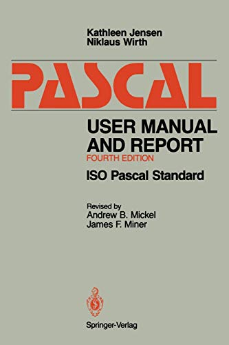 Pascal User Manual and Report: ISO Pascal Standard 9780387976495