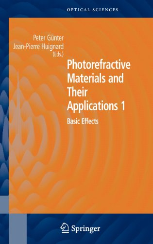 Photorefractive Materials and Their Applications 1: Basic Effects 9780387251912