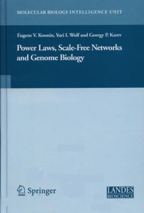 Power Laws, Scale-Free Networks and Genome Biology 9780387258836