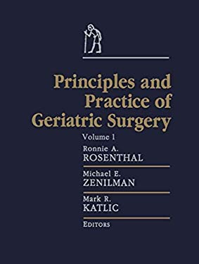 Principles and Practice of Geriatric Surgery 9780387983936