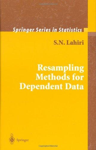 Resampling Methods for Dependent Data 9780387009285