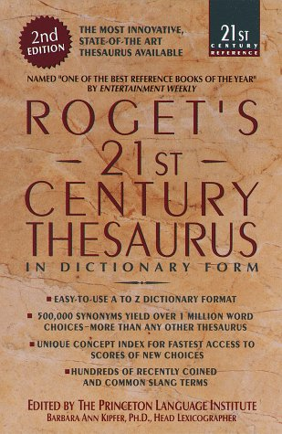 Roget's 21st Century Thesaurus: Updated & Expanded 2nd Edition 9780385334150
