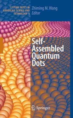 Self-Assembled Quantum Dots 9780387741901