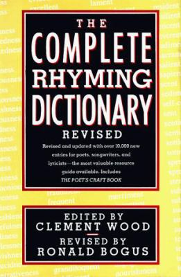 The Complete Rhyming Dictionary 9780385413503