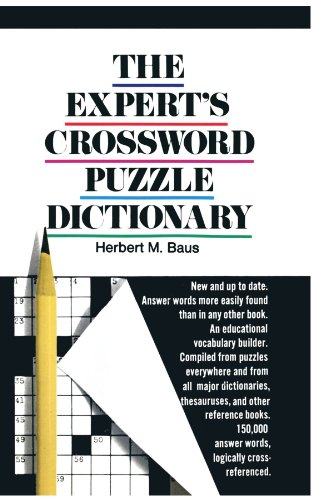 The Expert's Crossword Puzzle Dictionary 9780385047883