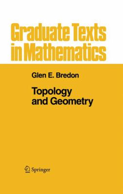 Topology and Geometry 9780387979267