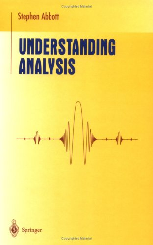 Understanding Analysis 9780387950600