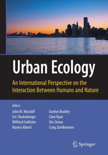 Urban Ecology: An International Perspective on the Interaction Between Humans and Nature 9780387734118