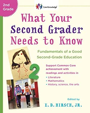 What Your Second Grader Needs to Know: Fundamentals of a Good Second Grade Education