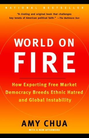 World on Fire: How Exporting Free Market Democracy Breeds Ethnic Hatred and Global Instability 9780385721868