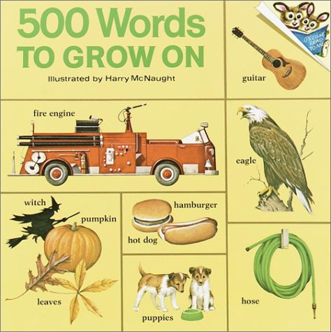 500 Words to Grow on 9780394826684