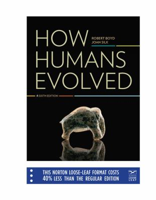 How Humans Evolved 9780393138092