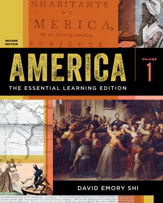 America: The Essential Learning Edition (Second Edition)  (Vol. 1)