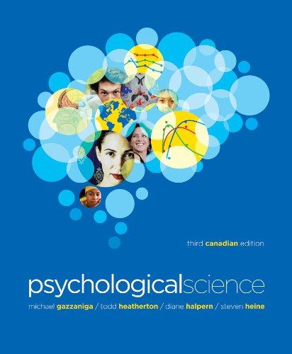 Psychological Science 9780393911527