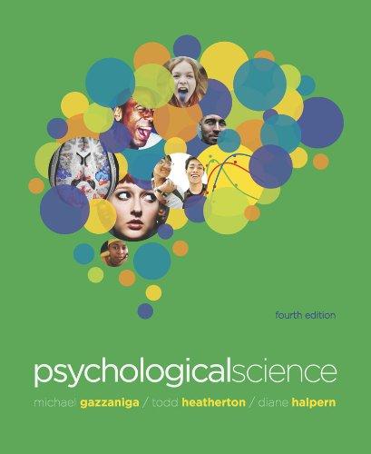 Psychological Science 9780393911572
