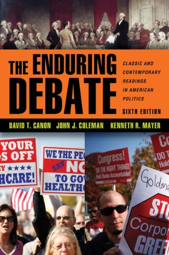 The Enduring Debate: Classic and Contemporary Readings in American Politics 9780393912050
