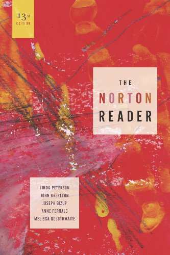 The Norton Reader: An Anthology of Nonfiction 9780393912180