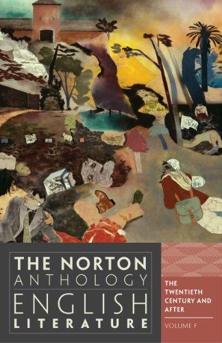 The Norton Anthology of English Literature 9780393912548