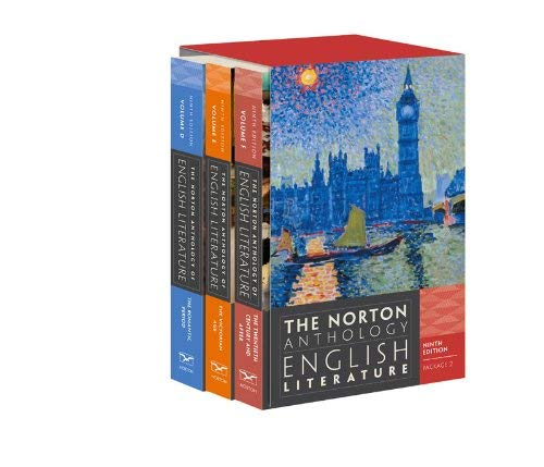 The Norton Anthology of English Literature, Package 2 9780393913019