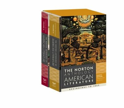 The Norton Anthology of American Literature 9780393913095