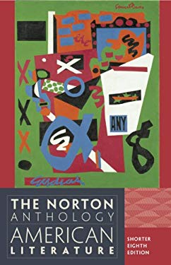 The Norton Anthology of American Literature 9780393918854