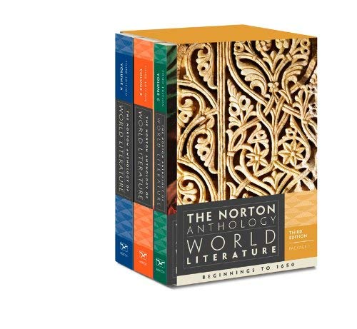 The Norton Anthology of World Literature 9780393933659