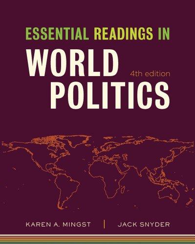 Essential Readings in World Politics 9780393935349