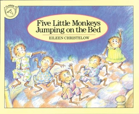 ISBN 9780395557013 product image for Five Little Monkeys Jumping on the Bed | upcitemdb.com