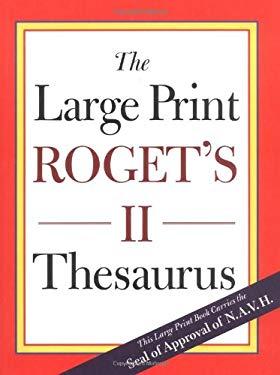 Rogets II Large Print 9780395929339