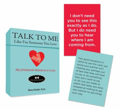 Talk to Me Like I'm Someone You Love: Flash Cards for Real Life 9780399162022