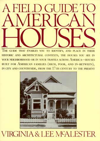 A Field Guide to American Houses 9780394510323