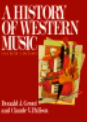 A History of Western Music 9780393956276