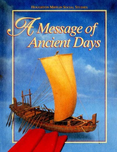 A Message of Ancient Days 9780395809310
