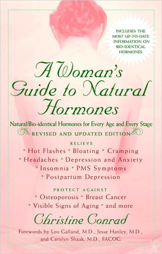 A Woman's Guide to Natural Hormones 9780399531033