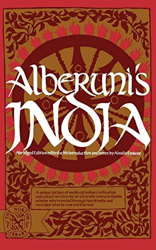 Alberuni's India (Abridged) 9780393005684