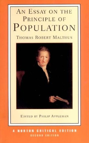 An Essay on the Principle of Population 9780393924107