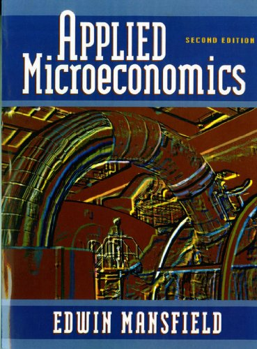 Applied Microeconomics 9780393970326