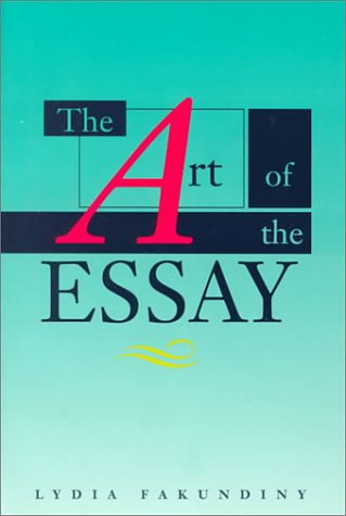 the art of the essay An essay on the pain of playing video games so it's a fascinating time to examine the concept of failure in video games, and luckily the gaming academic jesper juul did just that in the art of failure: an essay on the pain of playing video games, which was released in february by mit press as part.