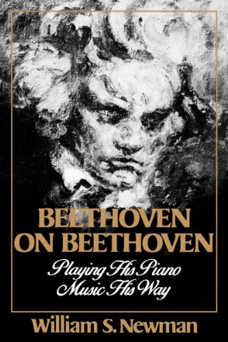 Beethoven on Beethoven: Playing His Piano Music His Way 9780393307191