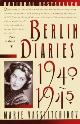 Berlin Diaries, 1940-1945 9780394757773