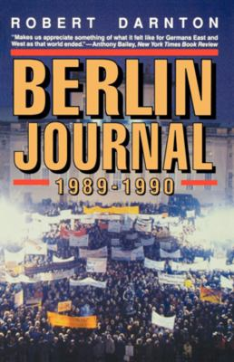 Berlin Journal, 1989-1990 9780393310184
