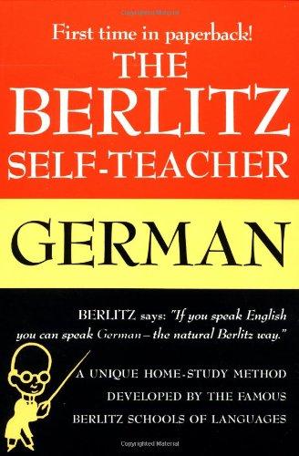 Berlitz Self-Teacher: German 9780399513220