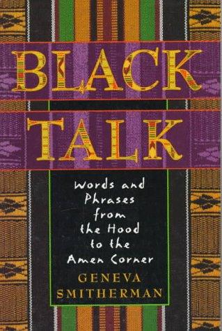 Black Talk 9780395699928