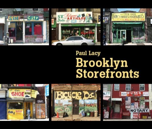 Brooklyn Storefronts 9780393330021