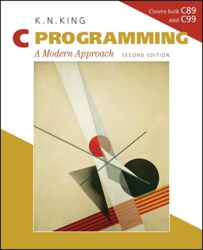 C Programming: A Modern Approach 9780393979503