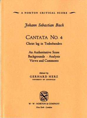 Cantata No. 4 9780393097610