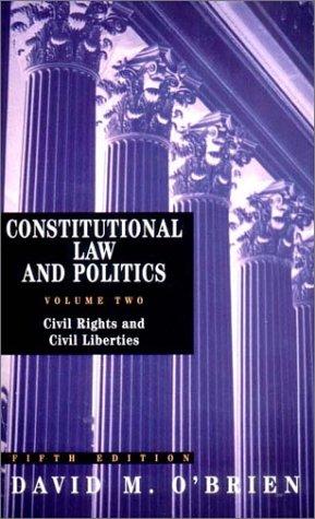Civil Rights and Civil Liberties 9780393977493
