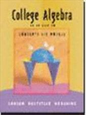 College Algebra: Concepts and Models, Third Edition