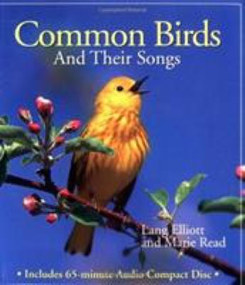 Common Birds and Their Songs [With 60-Minute] 9780395912386