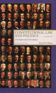 Constitutional Law and Politics: Civil Rights and Civil Liberties 9780393930399